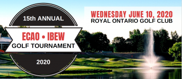 ECAO- IBEW 15th Annual Golf Tournament : CANCELLED!
