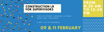 Labour Relations for Supervisors Virtual Webinar- February 9 and 11