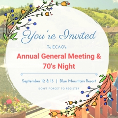 AGM 2018 in Blue Mountain!